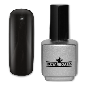 Royal Nails UV Gel Polish: UV gel polish Pure Black 11 ml.