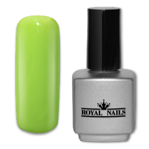 Royal Nails UV Gel Polish: UV gel polish Yellow Green 11 ml.