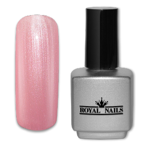 Royal Nails UV Gel Lack: UV-Gel Lack Royal Nails Vanilla Ice Glimmer 11 ml.
