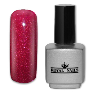 Royal Nails UV Gel Lack: UV-Gel Lack Royal Nails Shiraz Glitter 11 ml.