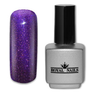 Royal Nails UV Gel Polish: UV gel polish Blue Universe Glitter 11 ml.