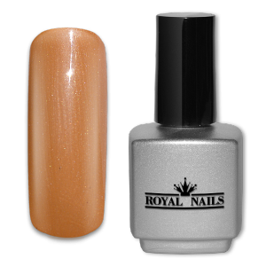 Royal Nails UV Gel Lack: UV-Gel Lack Royal Nails Raw Sienna Glimmer 11 ml.