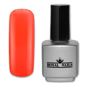 Royal Nails UV Gel Polish: UV gel polish Glowing Orange 11 ml.