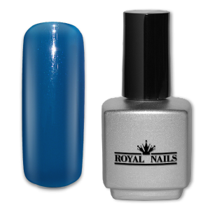 Royal Nails UV Gel Polish: UV gel polish Matisse Blue 11 ml.