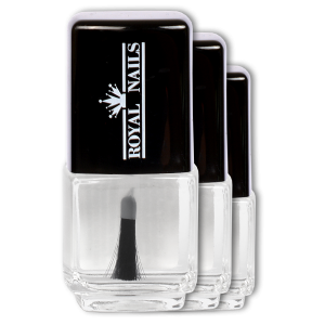 Royal Nails Nagellack: �berlack 15 ml., 3er Pack