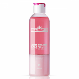 Royal Nails Liquids: Two-phase salt peeling, 200ml