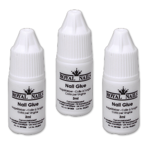 Royal Nails Sonstiges: Nail-Glue, Nagelkleber, 3 ml. Royal Nails, 3er-Pack