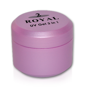 Royal Nails Royal 2 Gel: Royal 2 UV Gel 3 in 1, 15g