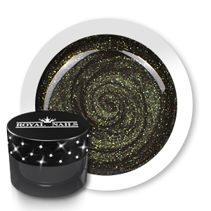 Royal Nails Gel de couleur: Gel de couleur pour ongles n° 185 Avocado Glitter