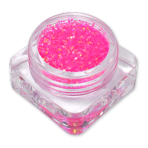 Royal Nails Glitter and Tinsel: Nail Art Glitter Illusion Pink