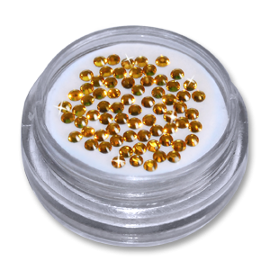 Royal Nails Rhinestones: Rhinestones (gold) Swarovski