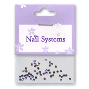 Royal Nails Strasssteine: Royal 2 Strasssteine (lila)