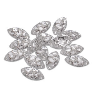 Royal Nails Rhinestones: Decorative stones cat eyes clear 10x4mm