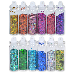 Royal Nails Glitter and Tinsel: Decoration Glitter Set