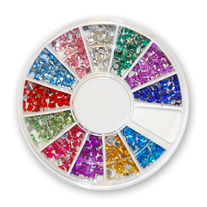 Royal Nails Rhinestones: Rhinestones Drops Carousel