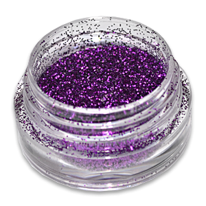 Royal Nails Glitter Puder Grape Violett Nageldesign Nail Art