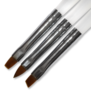Royal Nails Gel Brush: Set of 3 Gel Brushes