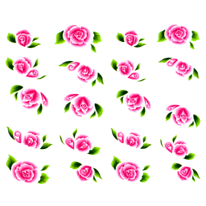 Royal Nails Stickers pour ongles: Nail Art Sticker pour ongles Nr. 3667
