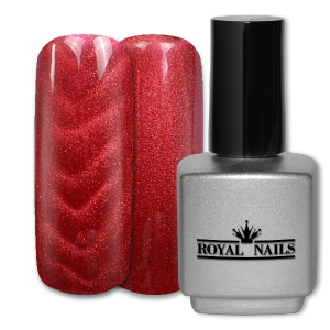 Royal Nails Colorgel: Magnet Color Gel Perfekt Red Glitter 11 ml.