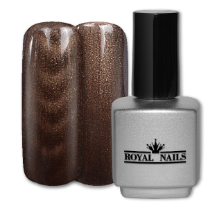 Royal Nails Colorgel: Magnet Color Gel Chocolate Glitter 11 ml.