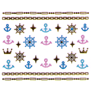 Royal Nails Nail Sticker: Nail Art Stickers Nr. 4152
