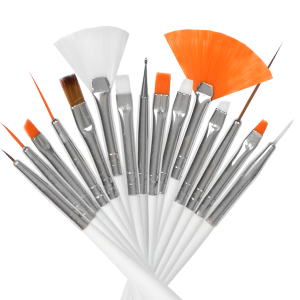 Royal Nails Gel Brush: Set of 15 Decoration Brushes