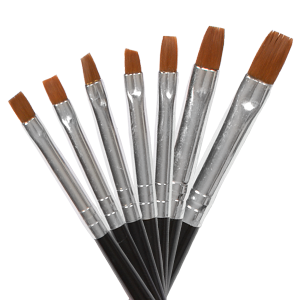 Royal Nails Gel Brush: Set of 7 Gel Brushes