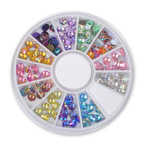 Royal Nails Strasssteine: Strass Display Bunt