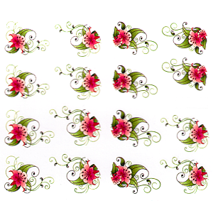 Royal Nails Stickers pour ongles: Nail Art Sticker pour ongles Nr. 6621