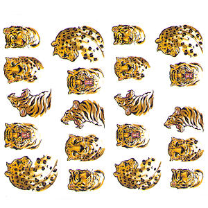 Royal Nails Nailsticker: Nail Art Sticker Nr. 6652