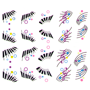 Royal Nails Nailsticker: Nail Art Sticker Nr. 6655