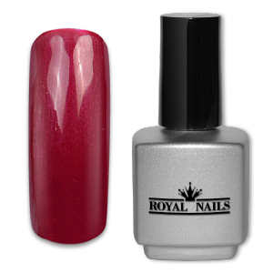 Royal Nails UV Gel Lack: UV-Gel Lack Maroon Glimmer 11 ml.