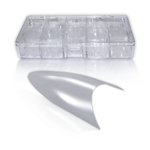 Royal Nails Royal Nails Tips: Stiletto Tip Box transparent