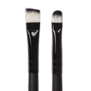 Royal Nails Brushes: Double Side Medium Angle Brush and Concealer Brush