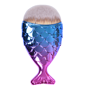 Royal Nails Gel Brush: Make-up brush mermaid