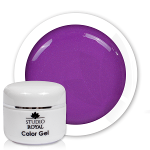 Royal Nails Color Gel: Studio Royal Nail-Art Color Gel Nr. 19 Wild Orchid Glimmer