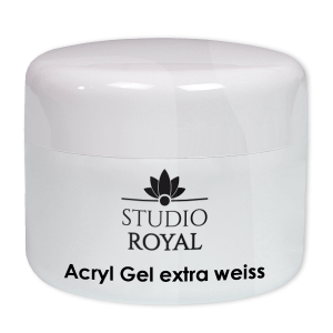 Royal Nails Acrylic Gel: Acryl Gel extra-white Studio Royal, 15ml