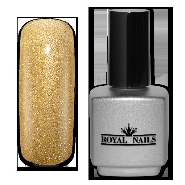 Royal Nails Uv Gel Polish Golden Grass Glitter Nail Nails Nailart