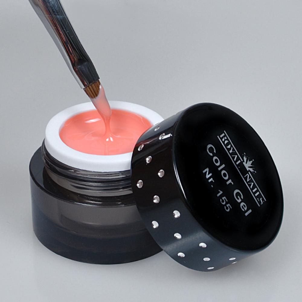 gel de couleur pour ongles n 155 apricot gel uv boutique en ligne. Black Bedroom Furniture Sets. Home Design Ideas