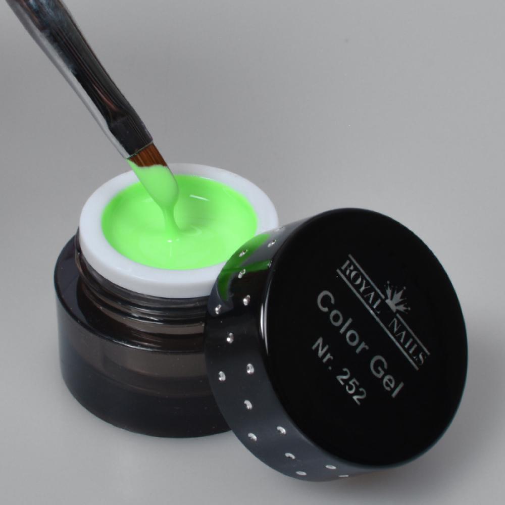 gel de couleur pour ongles n 252 hippy mint gel uv boutique en ligne. Black Bedroom Furniture Sets. Home Design Ideas