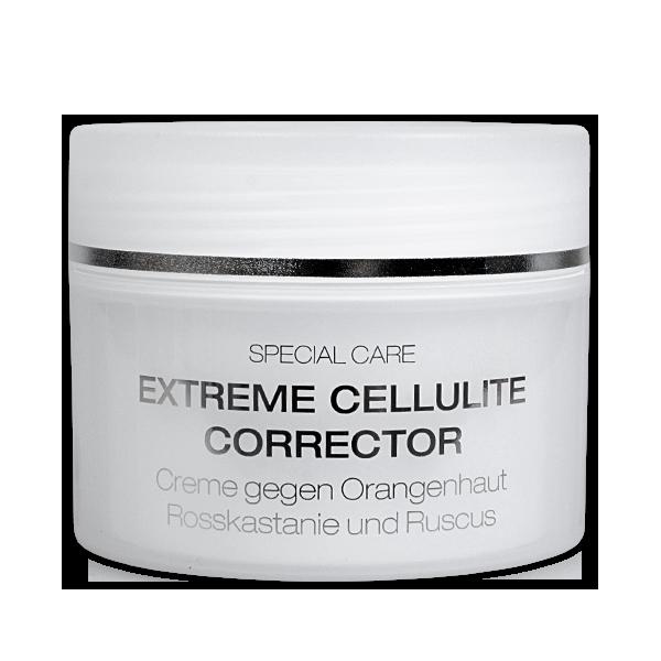 extreme cellulite corrector 250 ml creme gegen orangenhaut rosskastanie und ruscus. Black Bedroom Furniture Sets. Home Design Ideas