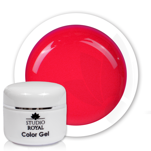 Studio Royal Nail Art Color Gel Nr 11 Neon Ruby